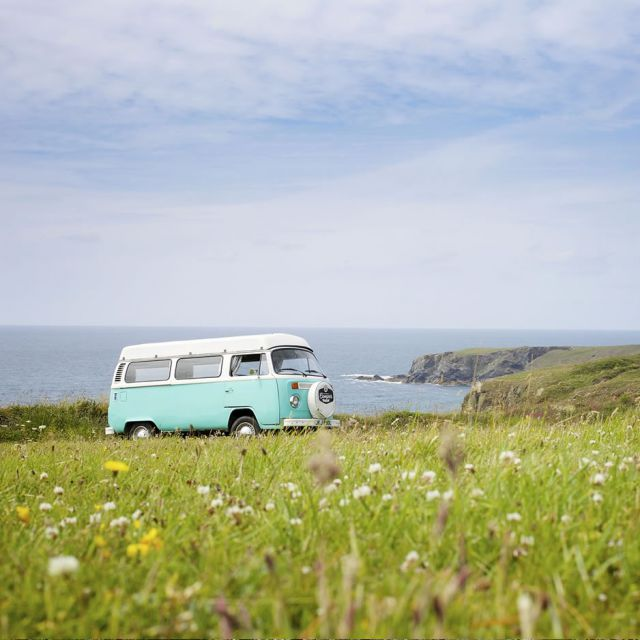 VW Campervan Scotland Touring