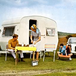 memories of holidays on the road in the 60s,
